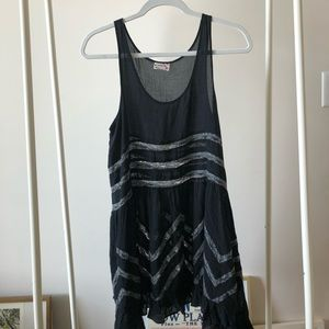 Black free people boho dress